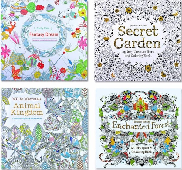 Coloring book animals for kids