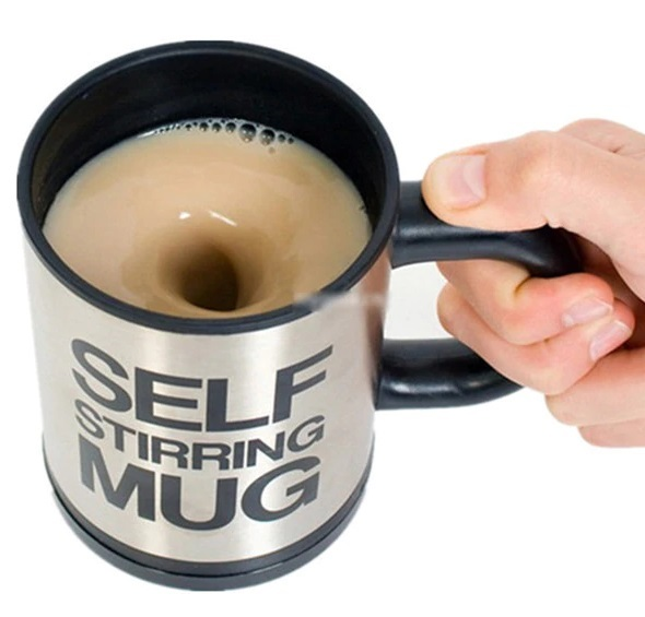 Self Stirring Mixing Mug Cup